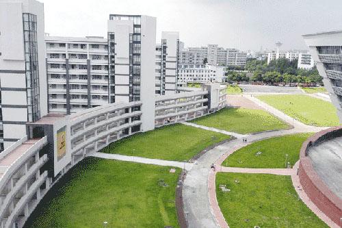 广东财经大学校园环境