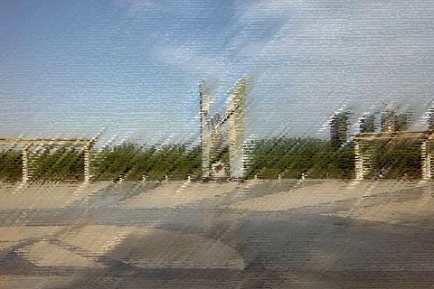 宁夏大学校园环境